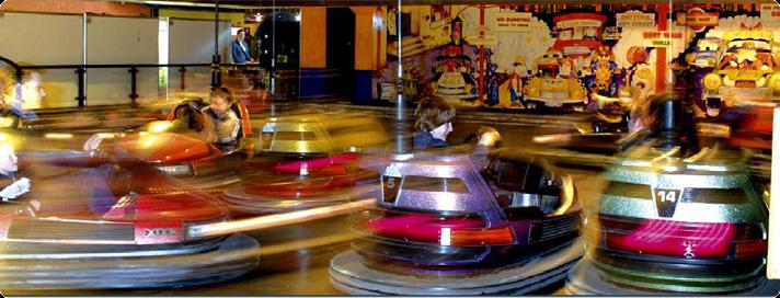 Bumper Cars at Codonas Amusement Park