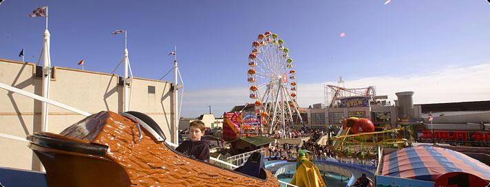 Log Flume at Codonas Amusement Park