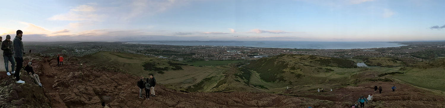 From Arthurs Seat