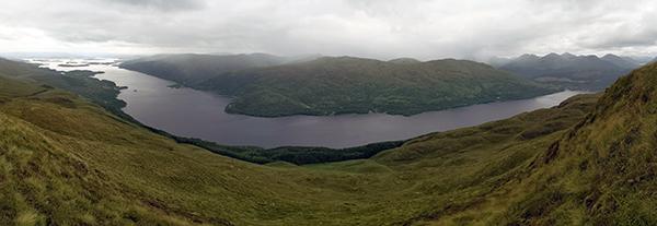Loch Lomond from the Ptarmignon