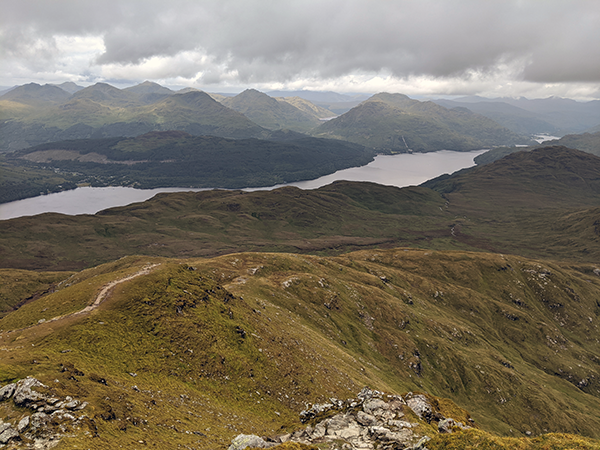The Trossachs, to the North