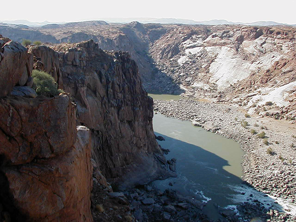 Augrabies Falls Canyon