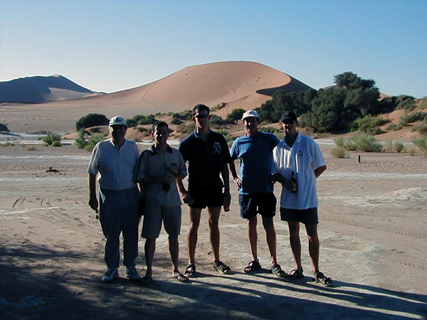The travellers and some dunes