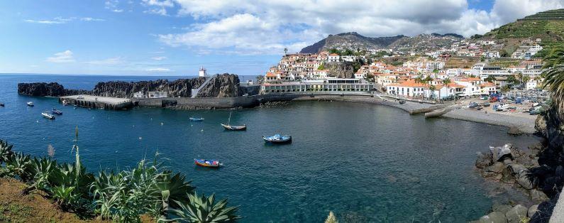 The beautiful village of Camara de Lobos