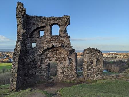St Anthony's Castle, Edinburgh