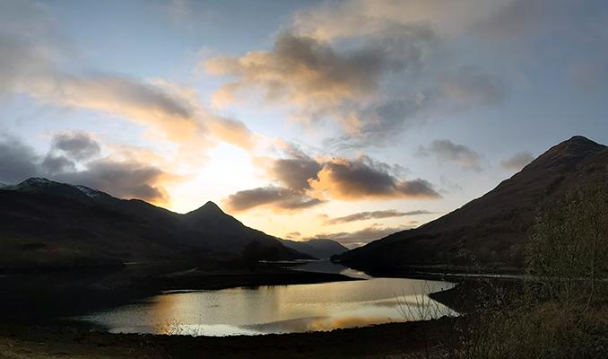 Western Scotland Sunset
